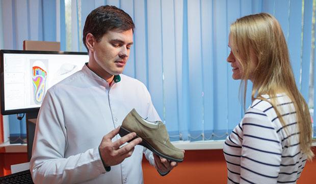 Les chaussures orthopédiques