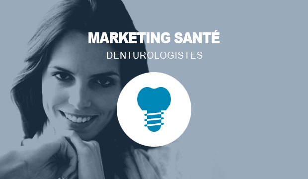 Publicité Web pour les denturologistes