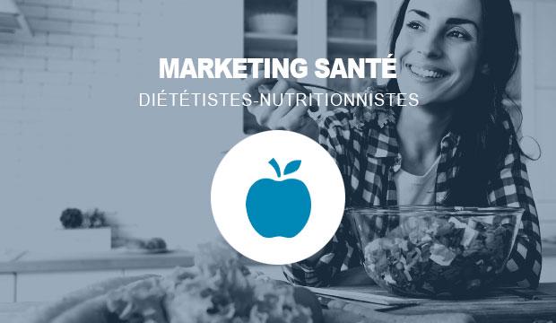 Publicité Web pour les diététistes/nutritionnistes