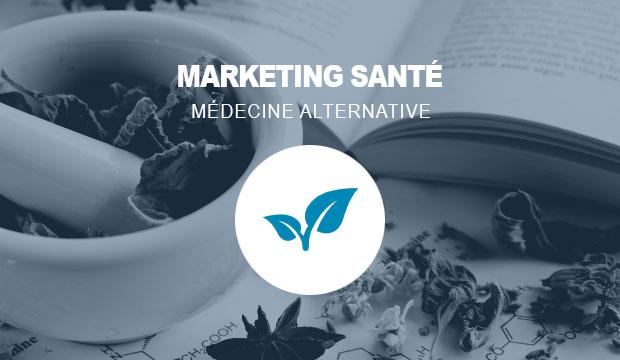 Publicité pour les services de médecine alternative