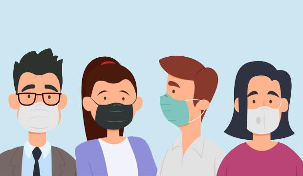 Masque et couvre-visage : ce qu'il faut savoir