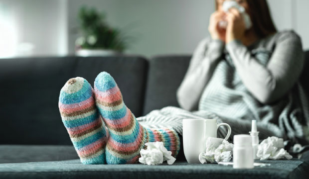 Soulagement naturel des symptômes du rhume