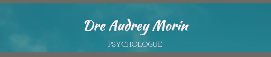 Dre Audrey Morin, psychologue