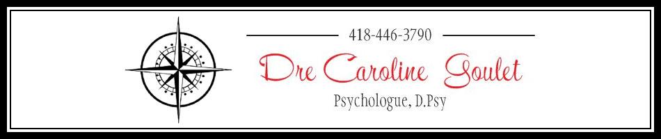 Dre Caroline Goulet, psychologue