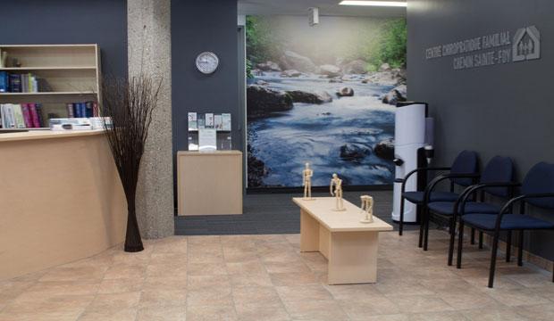 Massothérapeutes - Centre chiropratique familial chemin Sainte-Foy