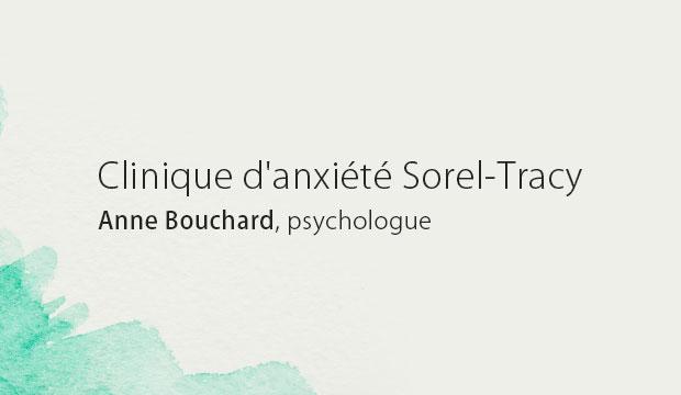 Clinique d'anxiété Sorel-Tracy