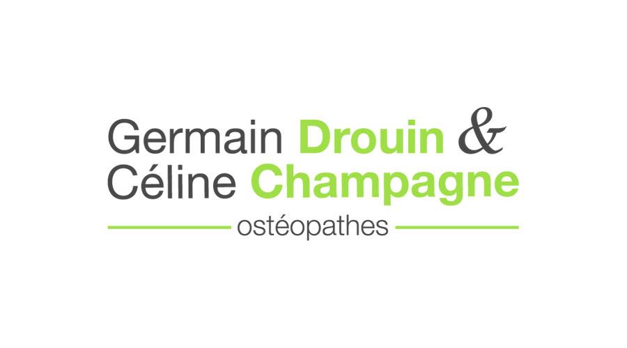 Germain Drouin & Céline Champagne, ostéopathe