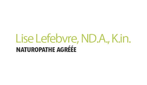 Lise Lefebvre, ND.A., K.in., naturopathe agréée