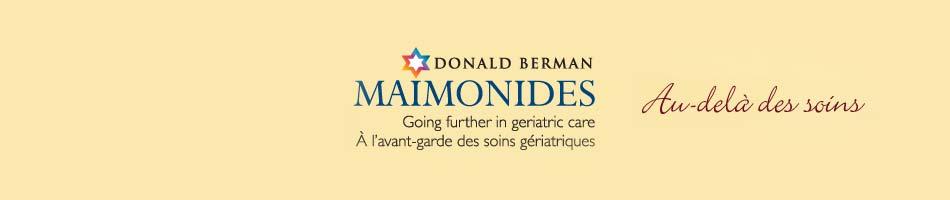 Centre gériatrique Maimonides Donald Berman